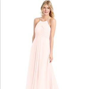 Azazie Ginger Rose Petal Pink Bridesmaids Dress